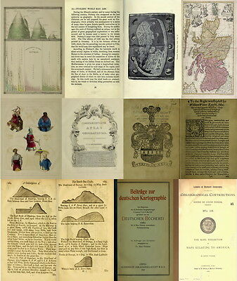 140 Rare Old Books On Cartography, Maps, Map Making, Ancient Maps & Atlas On Dvd 9