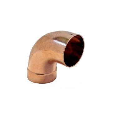 2/'/' 90 Degree Copper Long Turn Radius Street Elbow FTGxC Libra Supply 2 inch