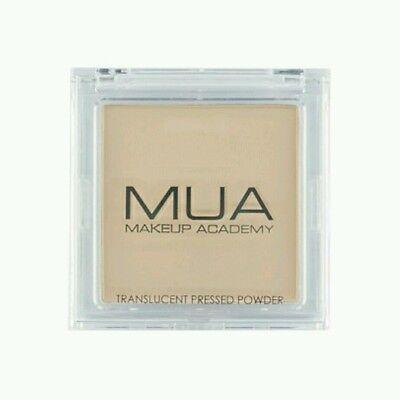 MUA Translucent Pressed Powder Makeup Setting Foundation Face Powder TALC FREE 2