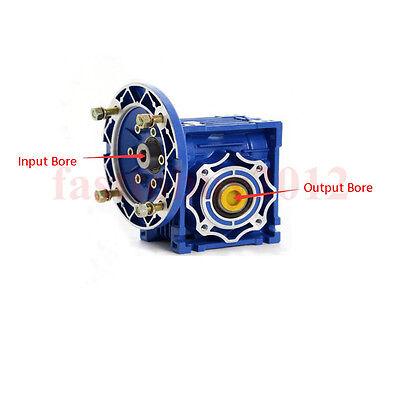 NMRV030 Worm Gear Reducer Ratio 15:1 56B14 Speed Reducer for 180W Electric Motor 3