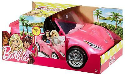 Official Barbie Glam Style Convertible Sports Car Pink Glitter  Playset Toy 3