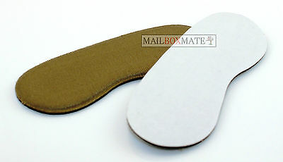 Extra Sticky Fabric Shoe Heel Inserts Insoles Pads Cushion Grips Strong Comfy 5