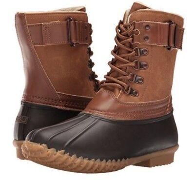 JBU by Jambu Women/'s Freeport Weather Ready Rain Duck Shoes Navy//Whiskey