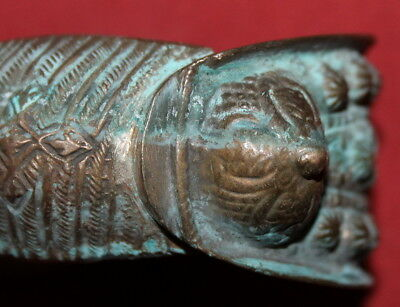 Ancient Greek Orthodox Folk Crusader Bronze Fertility Bracelet