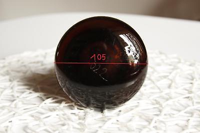 SCHLIFF GLASSSTOPFEN Form selten, glass stopfen, rund, alt, GROSS, MASSIV
