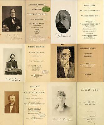 300 Rare Books On Spirits, Medium, Séances, Communication With The Dead On Dvd 9