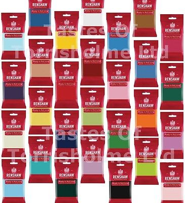 Renshaws Regalice Fondant Icing Ready To Roll 250g Colour Decorating Sugarpaste 4