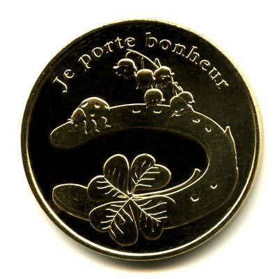 13 AUBAGNE Série 7 Merveilles du Monde et le porte-bonheur, Monnaie de Paris 9