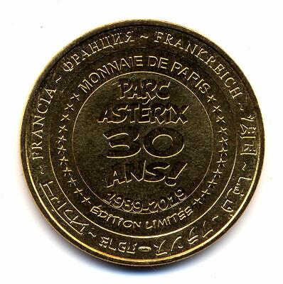 60 PLAILLY Parc Astérix, Astérix & Pégase Express, 2019, Monnaie de Paris 2