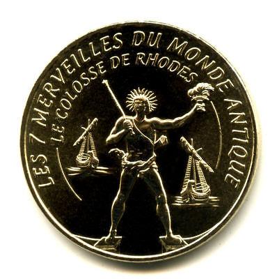 13 AUBAGNE Série 7 Merveilles du Monde et le porte-bonheur, Monnaie de Paris 6
