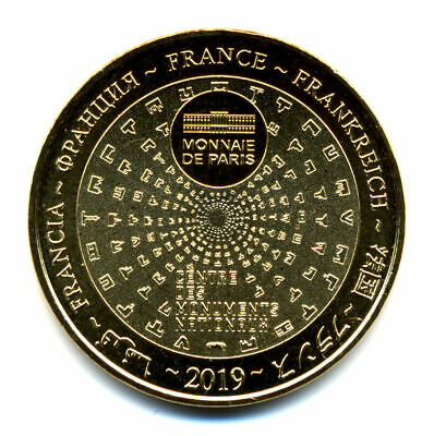 49 ANGERS Château et tenture de l'Apocalypse, 2019, Monnaie de Paris 2
