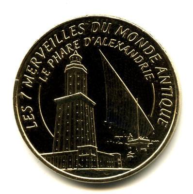 13 AUBAGNE Série 7 Merveilles du Monde et le porte-bonheur, Monnaie de Paris 2