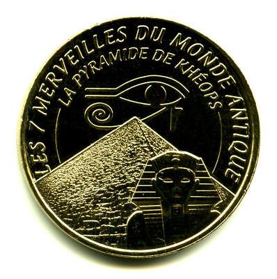 13 AUBAGNE Série 7 Merveilles du Monde et le porte-bonheur, Monnaie de Paris 8
