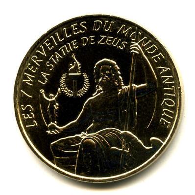 13 AUBAGNE Série 7 Merveilles du Monde et le porte-bonheur, Monnaie de Paris 3