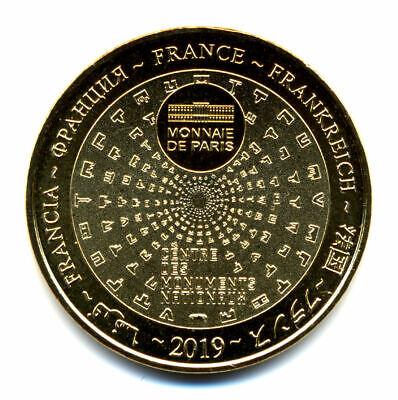 50 MONT-SAINT-MICHEL Le Mont 3, Face à points, 2019, Monnaie de Paris 2