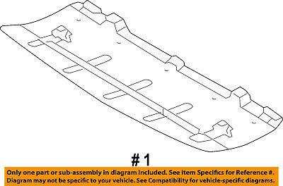 KIA OEM 11-13 Sportage Under Radiator//Engine-Cover Splash Shield 291103W500