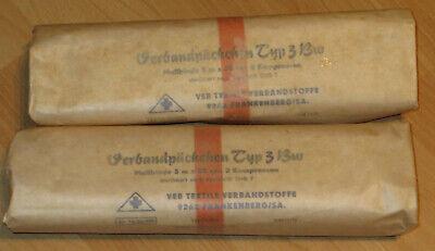 Holz Sanitäts Kasten, 1973, mit Inhalt! Sanibox, Erste Hilfe Koffer 12