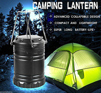 2p x 30 LED Camping Lantern Portable Collapsible Light Outdoor Hiking Work Lamp 11