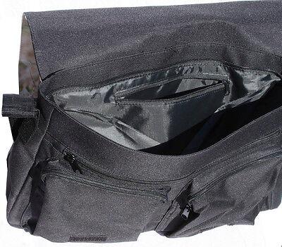 +++ BOMBAY KATZE - Schwarze COLLEGE TASCHE Collegetasche Tas Bag - CAT 03 3