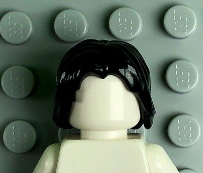 LEGO Bright Light Yellow Minifig Hair Mid-Length Tousled Center Part 88283 x1