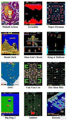 966T Classic Arcade Maschine Cabinet TV Video Spielautomat Standgerät 3500Spiele
