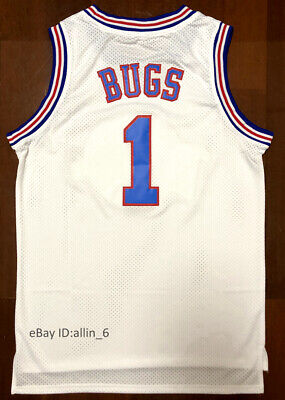Bugs Bunny Lola Bunny Jordan Tune Squad Space Jam Movie Men's Basketball Jersey 5