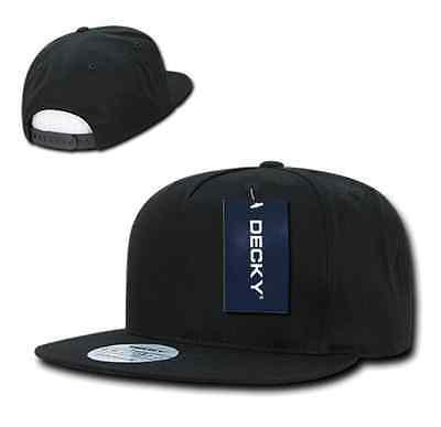 ... 1 Dozen Decky Flat Bill Baseball Hats Caps Cotton 5 Panel Snapback  Wholesale Lot 4 ca140b9e5ce