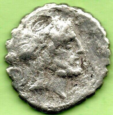* Q Antonius Balbus ANTONIA -Denar. Serratus ( 83-82 BC.) [Q ANT BALB P R in ex] 2