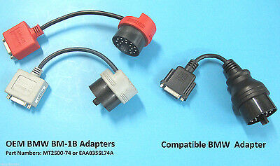 Replacement BMW BM-1B Adapter for Snap On MT2500 MODIS SOLUS SCANNER MT2500-74