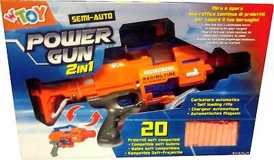 Fucile spara acqua 3 canne 65 cm