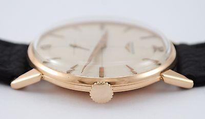 98848190c440 ... Vintage Longines 18K   750 Pink Gold Caliber 232 Manual Movement Watch 5