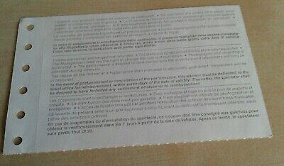 """Biglietto Palco Scala Di Milano """"Gala Per Carla Fracci"""" 31/10/1991 4"""