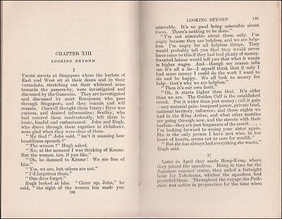 1919 Charles Morgan THE GUNROOM, Novel Based on his ROYAL NAVY Service 1907-1913 9