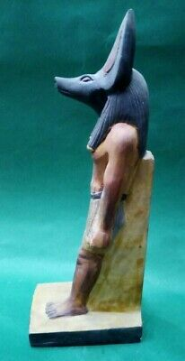 RARE ANCIENT EGYPTIAN ANTIQUES Statue Of God ANUBIS Dead Underworld 1840-1760 BC 2
