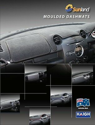 Dashmat Moulded Black for Ford Falcon FG XR6 XR8G6 G6E 05/08 - 10/14 Dash Mat