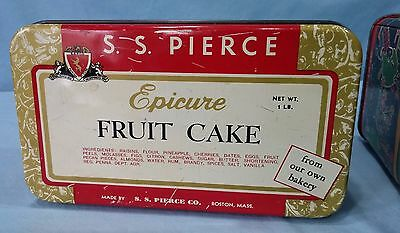 Vintage Advertising Tins Lithograph Epicure Fruit Cake And Barton's Almond Kiss 11