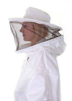 BUZZ Beekeeping bee suit - LARGE with round hat and twin hoop veil 2