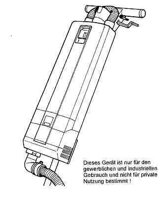 Columbus Absaugung GK 400 Absauggerät Einscheibenmaschine E 400 S HS 403 E400S 2