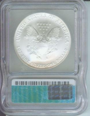 2005 American Silver Eagle ASE S$1 ICG MS69 MS-69 PQ+ 2