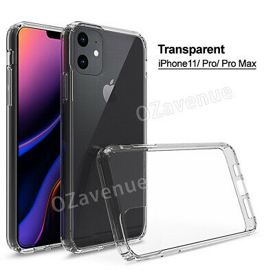 【Airbag Shockproof】iPhone 11/Pro/Max Clear Case Bumper Slim Cover Silicone TPU 11