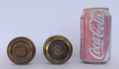 Vintage Pair Of Brass Handle/knobs 11