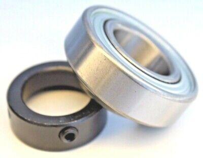 "Premium CSA205-16 Insert Bearing 1/"" Bore w//Locking Collar  RA100RR JD8597 513016"