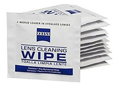 ZEISS Lens Cleaning 100 Wipes Eye Glasses Computer Optical Lense Cleaner 2