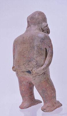 "Large Fine Pre-Columbian Pottery Figure  9 1/2"" x 5"" x 3"" 4"