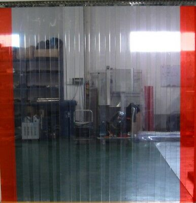 Clear Flexible Pvc Door Strip / Curtain - All Sizes Available 2