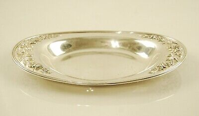 S. Kirk & Son Sterling Silver Repousse Bread Tray #735R 3