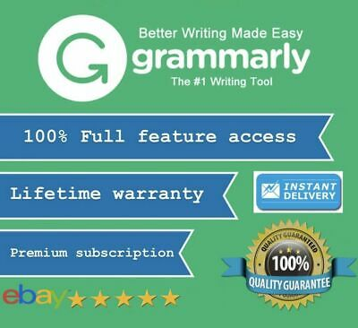 | SALE | Grammarly Premium Lifetime Account [Fast Delivery] 100% Guaranteed 2