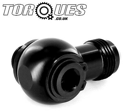 Torques AN-10 (AN10) Banjo Swivel Adapter M22x1.5 Fit SETRAB Oil Coolers BLACK