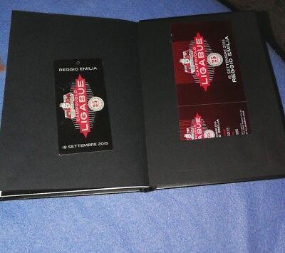 Ligabue Libretto Ufficiale Campovolo 19/9/2015 +biglietto +fazzoletto 3