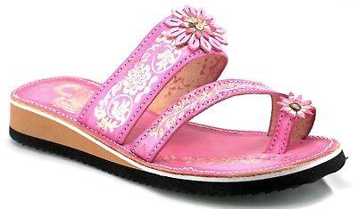 a7d5a514f ... Womens Mexican Handmade Leather HUARACHES Sandals Sandalia Mujer MEXICO  DEDO 2